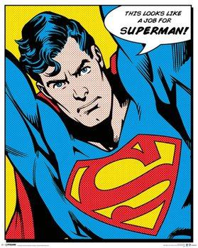 SUPERMAN - quote Poster, Art Print