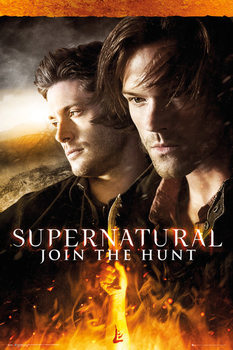 Supernatural - Fire Poster, Art Print