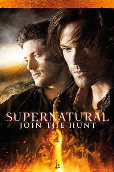 Supernatural - Fire Poster, Art Print
