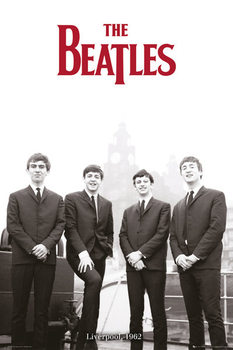 The Beatles - Liverpool 1962 Poster, Art Print