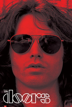 THE DOORS - red posters | art prints