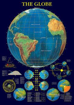 The globe Poster, Art Print