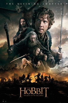 The Hobbit 3: Battle of Five Armies - Fire Poster, Art Print