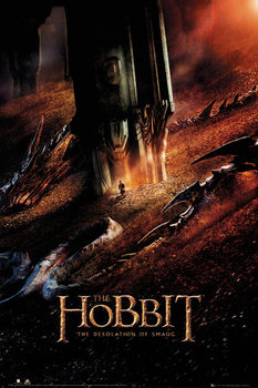 THE HOBBIT: THE DESOLATION OF SMAUG - Dragon Poster, Art Print