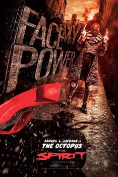 THE SPIRIT - face my power Poster, Art Print