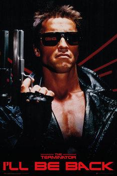 The Terminator - I'll Be Back Poster, Art Print
