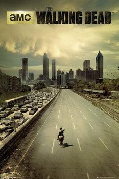 THE WALKING DEAD - city Poster, Art Print
