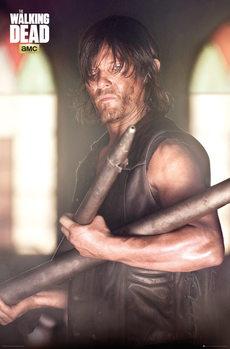 The Walking Dead - Daryl Faith Portrait Poster, Art Print