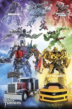 TRANSFORMERS 3 - characters posters | art prints
