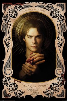 VAMPIRE DIARIES - d.salvatore posters | art prints