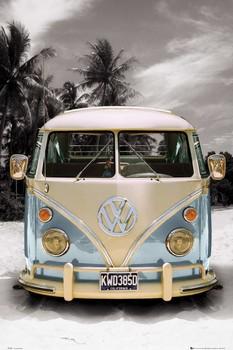 VW California camper Poster, Art Print