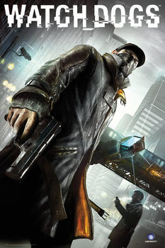 Watch dogs - cover  Poster, Art Print