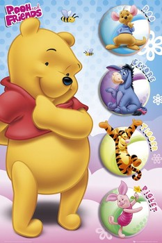WINNIE THE POOH - and friends posters | art prints