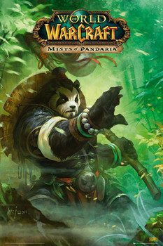 WORLD OF WARCRAFT - pandaria posters | art prints