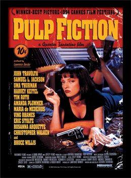 Pulp Fiction - Uma On Bed