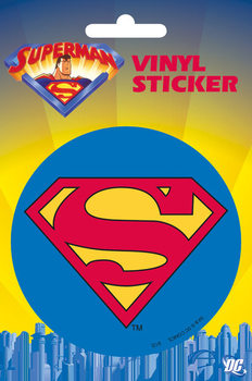 SUPERMAN - classic logo  Sticker