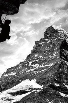 Obraz Be Brave - Climb the Mountain