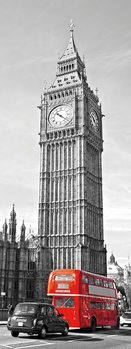 Obraz London - Big Ben and Red Telephone Box