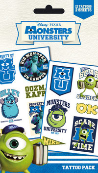 Tatuaż MONSTERS UNIVERSITY - mike & sulley