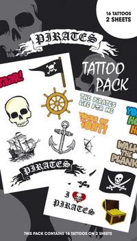 Tatuaż PIRATES 1