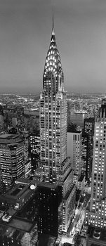 Nyc times square wall mural buy at europosters for Chrysler building wall mural