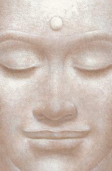 SMILING BUDDHA - wei ying wu Wall Mural