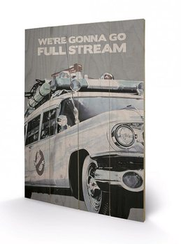 Ghostbusters - EctoMobile Wooden Art