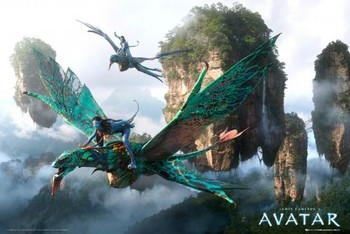 AVATAR limited ed. - flying Affiche, poster, photographie