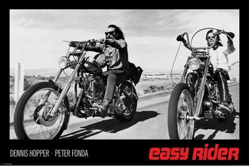 EASY RIDER - hopper  &amp;  fonda Affiche, poster, photographie