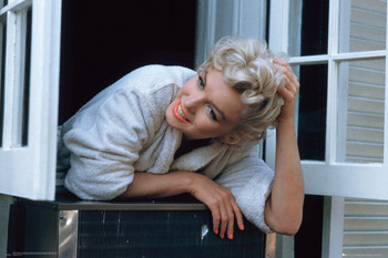 MARILYN MONROE - window Affiche, poster, photographie