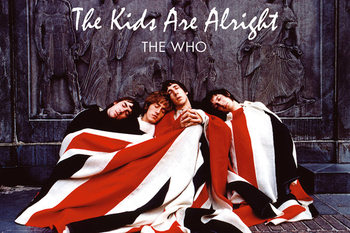 THE WHO - the kids are alright Affiche, poster, photographie