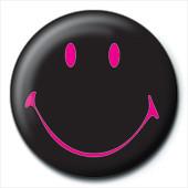 SMILEY - black Badge