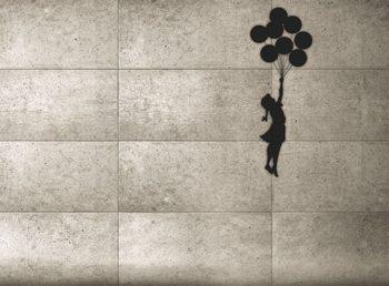 Banksy - Balloon Girl Fototapeta