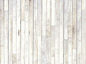Whitewash Wood Fototapeta