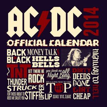 Calendar 2014 - AC/DC Kalendarz