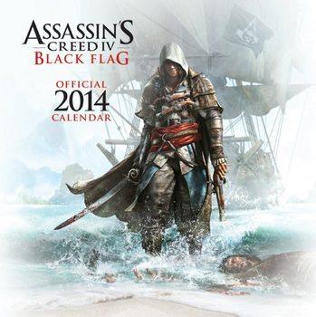 Calendar 2014 - Assasin's Creed IV Black Flag Kalendarz