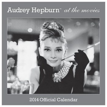 Calendar 2014 - AUDREY HEPBURN Kalendarz