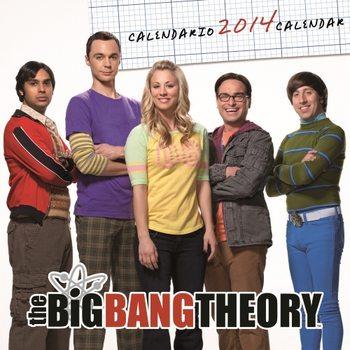 Calendar 2014 – BIG BANG THEORY Kalendarz