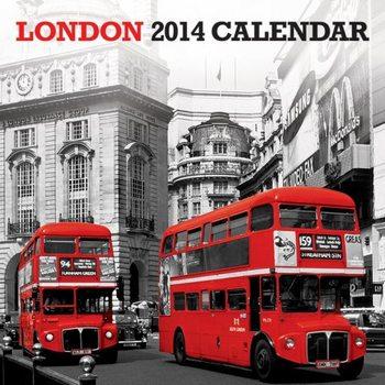 Calendar 2014 - LONDON 2014 Kalendarz