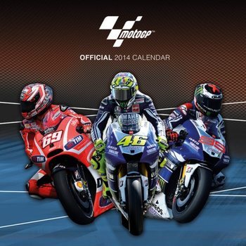 Calendar 2014 - MOTO GP Kalendarz
