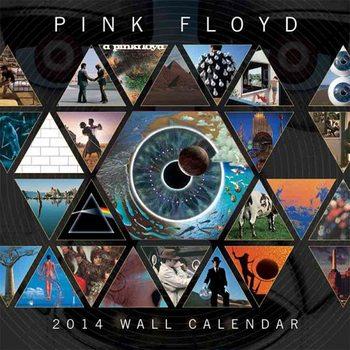 Calendar 2014 - PINK FLOYD Kalendarz