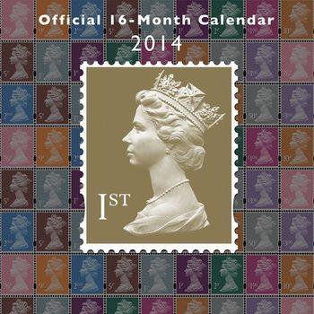 Calendar 2014 - ROYAL MAIL Kalendarz