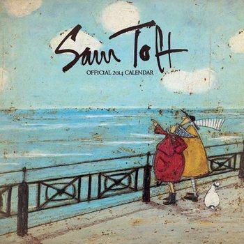 Calendar 2014 - SAM TOFT Kalendarz