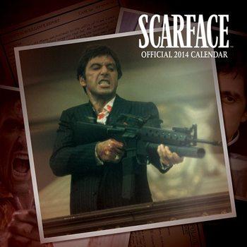 Calendar 2014 - SCARFACE Kalendarz