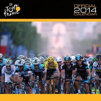 Calendar 2014 - TOUR DE FRANCE Kalendarz