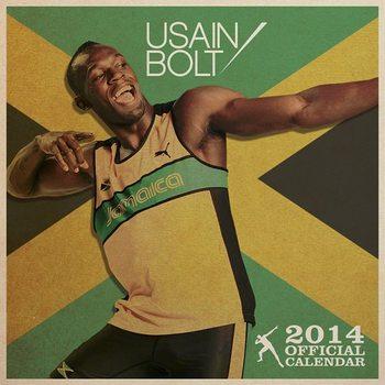 Calendar 2014 - USAIN BOLT Kalendarz