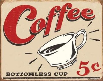 Metalowa tabliczka SCHOENBERG - coffee scents