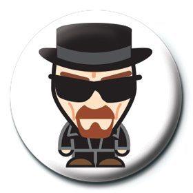 Odznaka Breaking Bad - Heisenberg suit