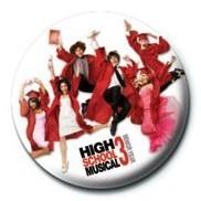 Odznaka HIGH SCHOOL MUSICAL 3 - Graduation Jump