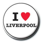 Odznaka I Love Liverpool